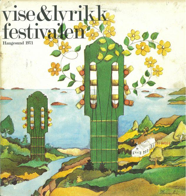 Forsiden på vinylen utgitt 1971.